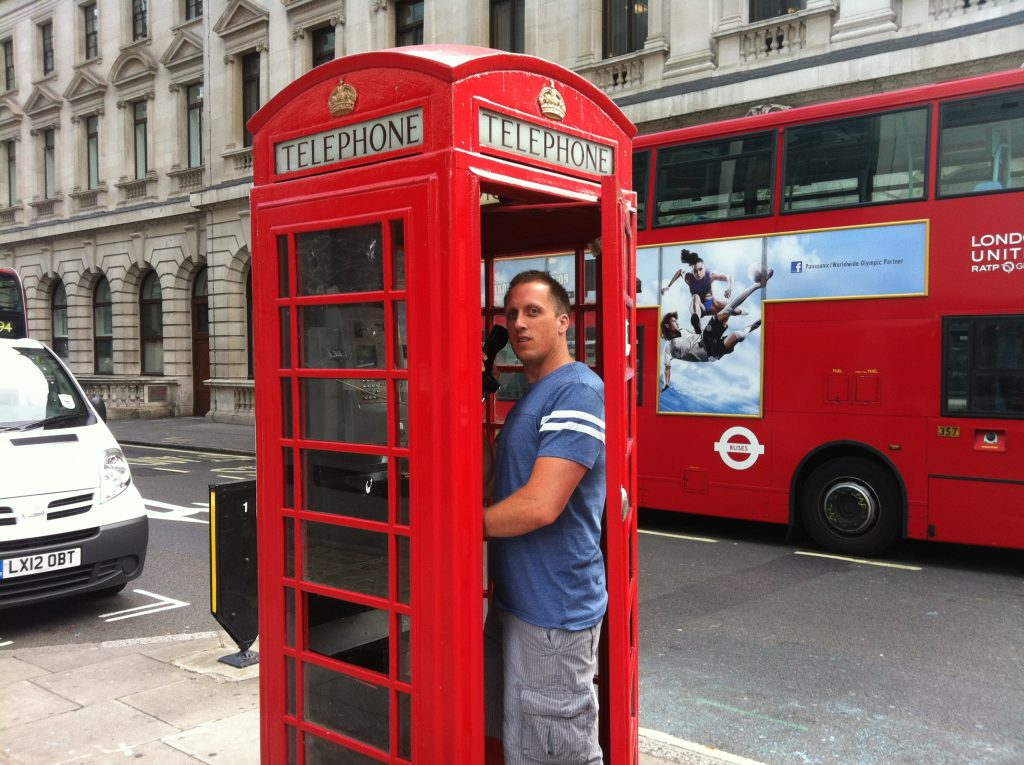 Mike in London 2012